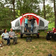 jeep compass tent amazon com lifetime deluxe tent trailer kit grey red pop up