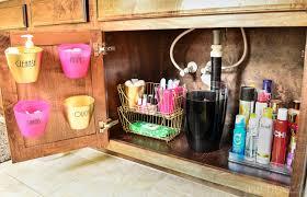 Under Sink Organizer Bathroom by Bathroom Organization Under The Sink Tips Side 1 Polished Habitat
