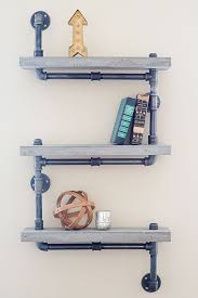 How To Make Wood Shelving Units by 521 Best Industrial Pipe Shelves Images On Pinterest Industrial