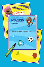 bubble guppies sports activity pack nickelodeon parents
