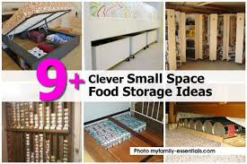 9 clever small space food storage ideas