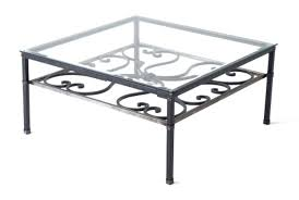 Wrought Iron Accent Table Ergonomic Wrought Iron Patio Side Table For House Ideas