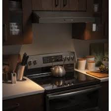 ge under cabinet range hood ge 30 in convertible under cabinet range hood with light in slate