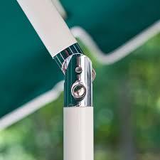 Patio Umbrellas That Tilt 7 5 Ft Frankford Acrylic Fiberglass Patio Umbrella With Valance