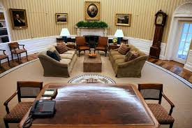 oval office redecoration white house oval office is redecorated the new york times