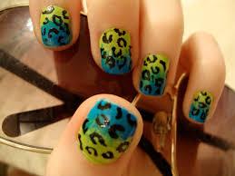 faded cheetah print nails kat u0027s nails