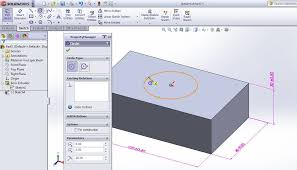 how to use solidworks extrude cut feature