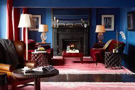 jewel tones fireplace decor ideas lonny