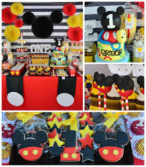 mickey mouse birthday party ideas mickey mouse birthday party popsugar