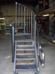 Prefabricated Aluminum Stairs by H U0026 A Enterprises Inc Spiral Stairs Aluminum Spiral Stair