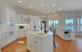 kitchen cabinets with light floor 5 easy ways to transform cabinets when painting isn t an option