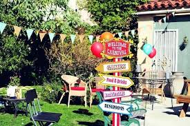 carnival decorations easy diy frozen birthday party ideas an adorable with loads of