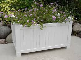 outdoor planter boxes with trellis u2013 home designing