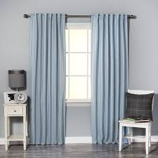 aurora home hotel stripe 84 inch insulated blackout curtains 52