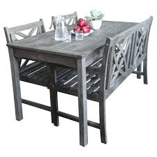 Cool Picnic Table The Use And Varieties Homesfeed by The 25 Best Dining Set With Bench Ideas On Pinterest Dining