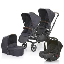 abc design tandem abc design 2017 zoom tandem 1 carrycot and 1 car seat in