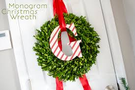 craftaholics anonymous monogram wreath tutorial