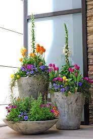 Front Porch Planter Ideas by Best 25 Planter Pots Ideas On Pinterest Outdoor Flower Pots