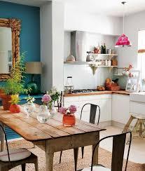 cuisine coloré cuisine idées déco pour mettre de la couleur côté maison