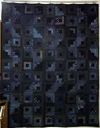 la chambre des couleurs log cabin quilt bleu et noir chambre des couleurs