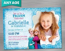 frozen invitation frozen birthday invitation frozen party