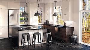 armoire de cuisine rustique cuisines sur mesure la rustique chic tendances concept