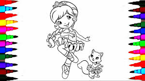 coloring book pages strawberry shortcake berry best dancing