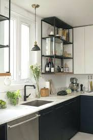 open kitchen cupboard ideas best open kitchen shelving ideas on shelves and small sink shelf