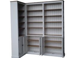 white corner bookcase with doors home design ideas