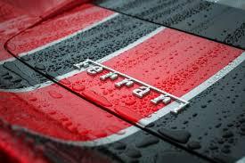 wallpaper ferrari logo 4k hd automotive cars 1512