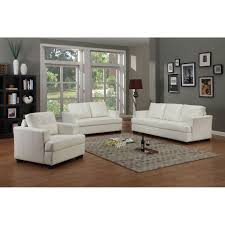 3 piece living room set tahoe leather white bonded 3 piece living room set