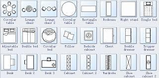Kitchen Symbols For Floor Plans Download House Plan Symbols Zijiapin
