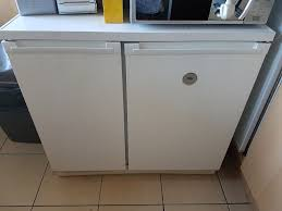 zanussi electrolux under counter fridge freezer shotgun in