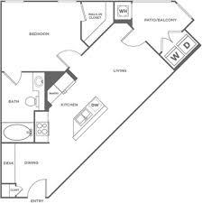 what is wh in floor plan acacia on santa rosa creek apartments floorplans greystar