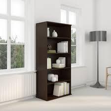 amazon com bush business furniture 72h 5 shelf bookcase in hansen
