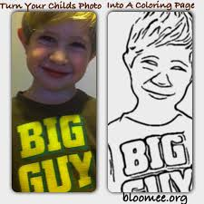 turn your photo into a coloring page kids coloring europe