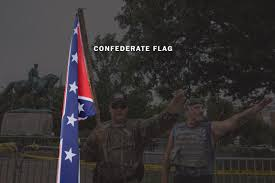Confederate Flag Origin What Do The Flags Chants And Symbols Spotted In Charlottesville