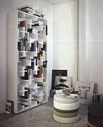 Staggered Bookshelves by Designer Bookcases