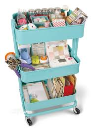 Raskog Cart 10 Ways To Organize Your Rolling Cart Happily Ever After Etc