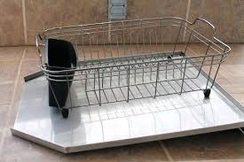 dish drainer for small side of sink side draining dish rack home design app review kaivalyavichar org