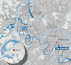 Moscow On Map Ruins Of Buildings And Artefacts The Soviets Tried To Destroy Are
