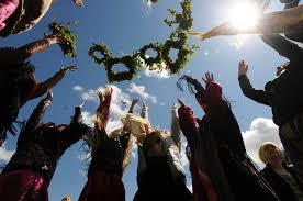 sunday when orthodox and pagan traditions unite russia