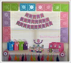a charming u0026 girly lego friends birthday party lego légo et fêtes