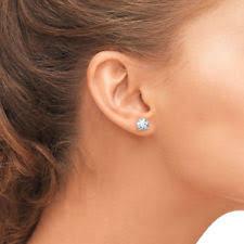 1 4 carat diamond earrings butterfly white gold vs1 1 00 1 24 diamond earrings ebay