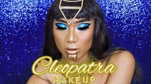 cleopatra halloween makeup marc zapanta youtube