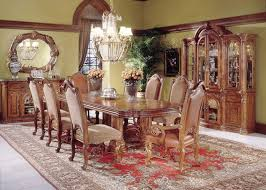 Monte Carlo Dining Room Set With Rectangular Table By AICO - Monte carlo dining room set