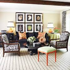 Black Sofa Living Room Decorating With A Black Sofa Better Homes Gardens