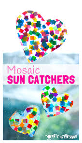 suncatcher mosaics for kids kids craft room