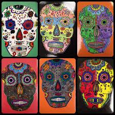 day of the dead halloween art lesson plan dia des muertos