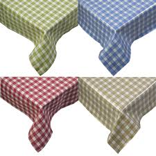 tablecloth traditional gingham check 100 cotton picnic kitchen